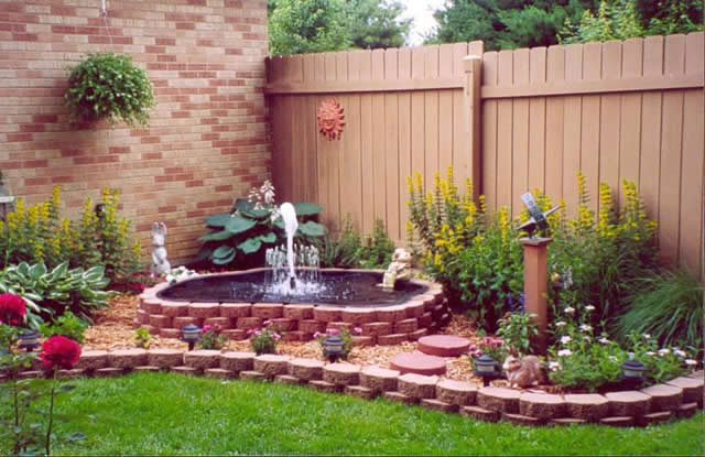 Patio Water Features Patio Fountains Ideas ...