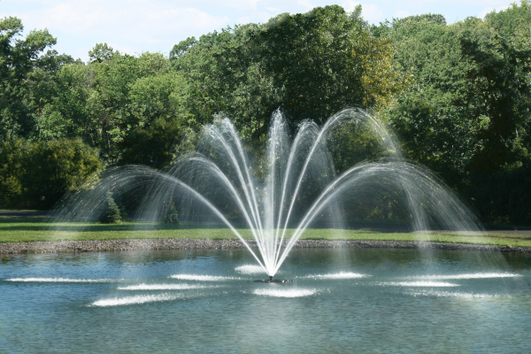 pond water fountains Outdoor