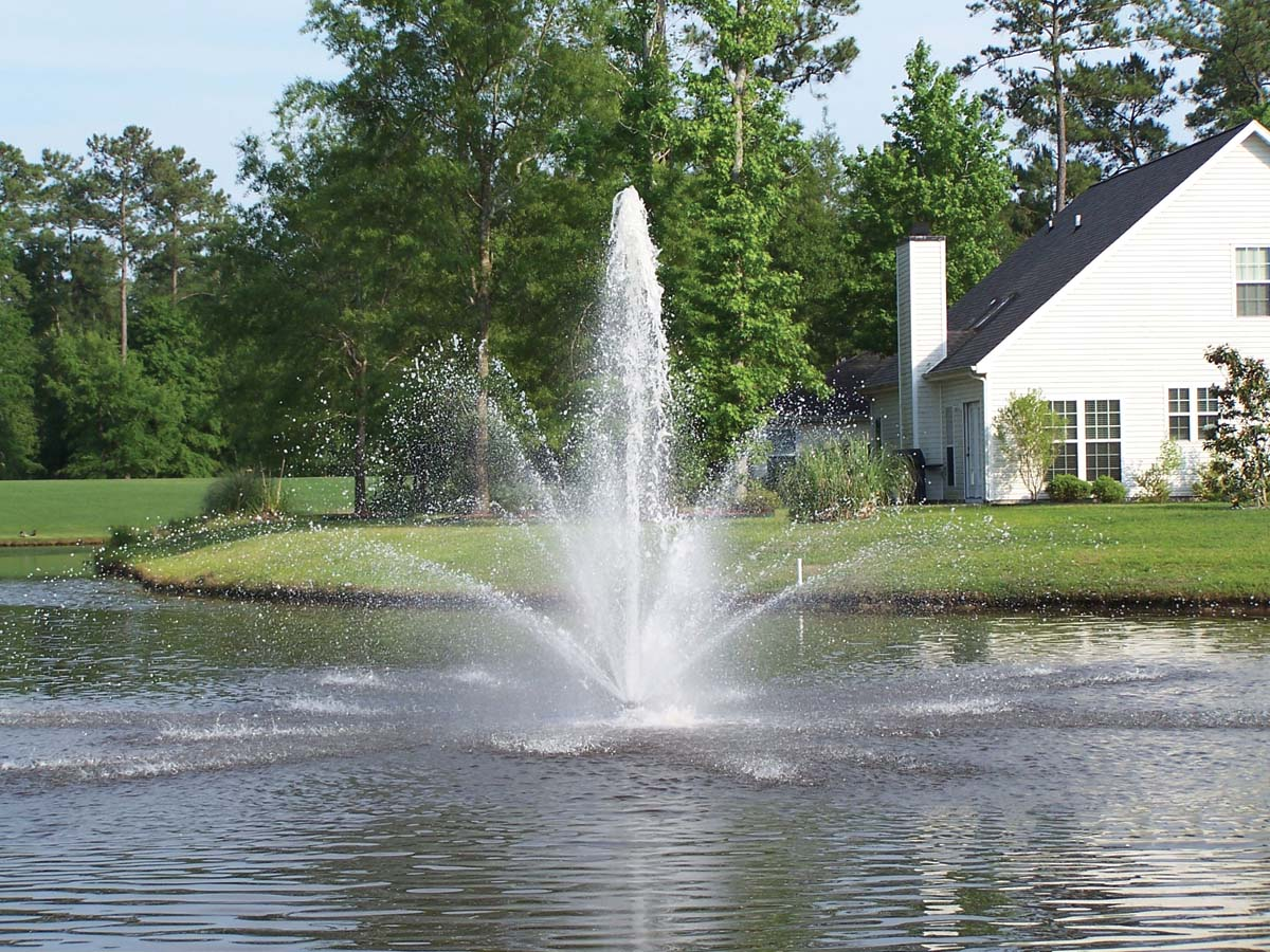 pond water fountains Service