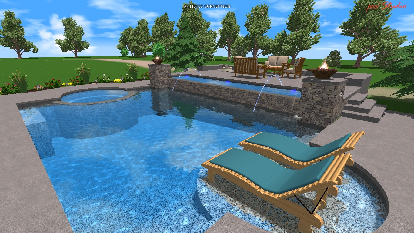Pool remodeling ideas home design store interior design for Pool redesign