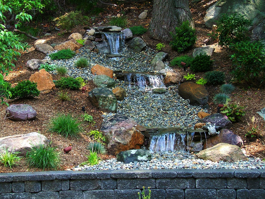 What should we use filters for pond waterfall interior Waterfall for ponds