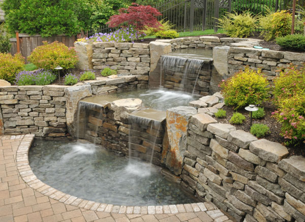 What Should We Use Filters For Pond Waterfall? | Interior Design Ideas
