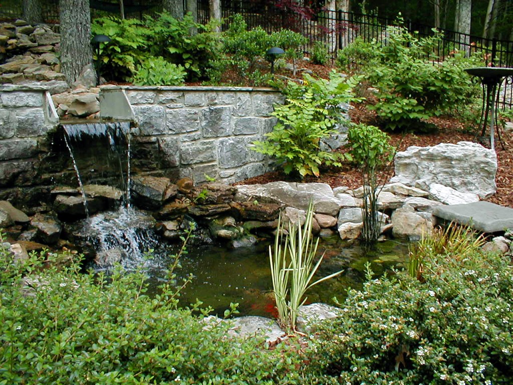 Garden Beautiful Backyard Water Features