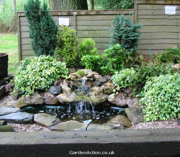 Water feature landscaping ideas for Water garden ideas