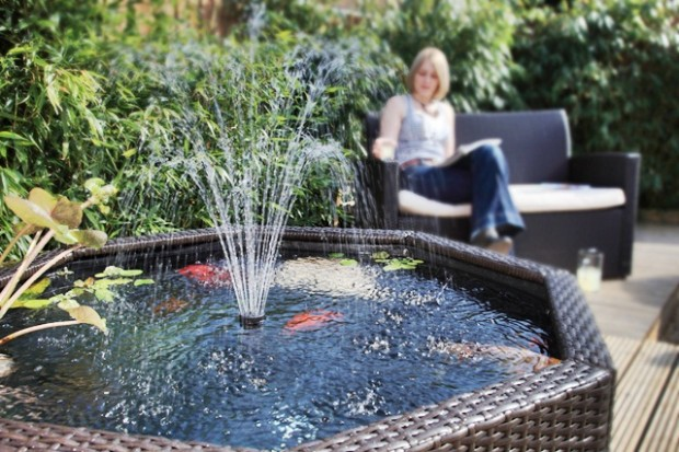 garden water features ideas Backyard landscaping