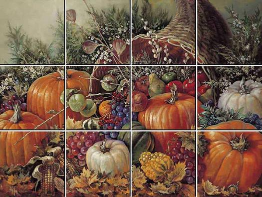 Bountiful Harvest IdeaStix Mural Wallpaper