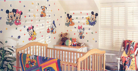 Disney Baby Nursery Themes decorating ideas