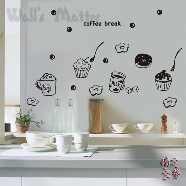Kitchen Stickers Wall Decor Uk