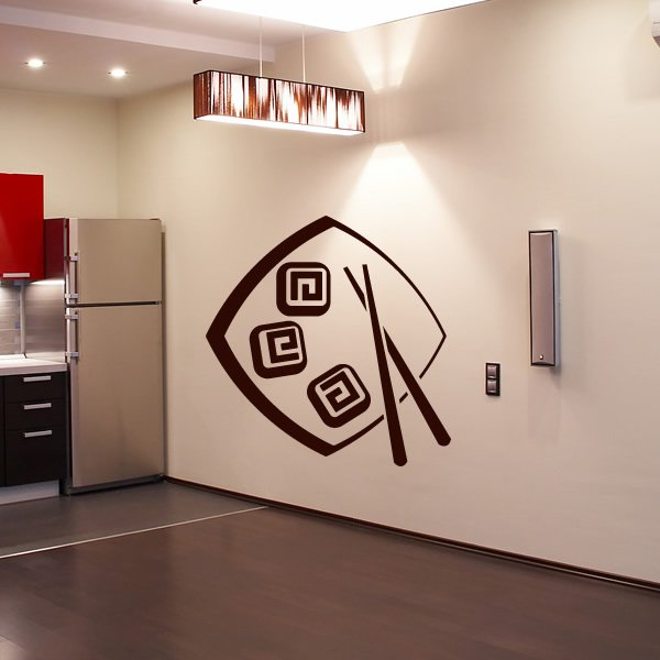 Japanese Food Food Cafe Wall ART Decal Wall Stickers Transfers