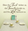 Kitchen Wall Decal Bless