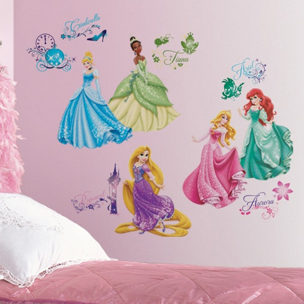 Princess Wall Decals Interior Design Ideas Girl'S Bedroom