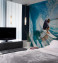 Surf-Themed Wall Murals in Bedrooms