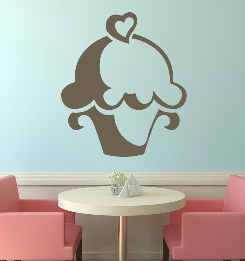 Wall art stickers wall decals large wall murals interior for Plaque decorative cuisine