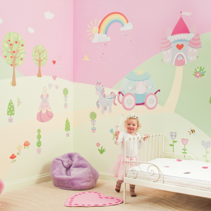 Wall Stickers Princess Wall Decals