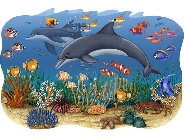 Zoo-Wallogy mural ocean wall stickers sea