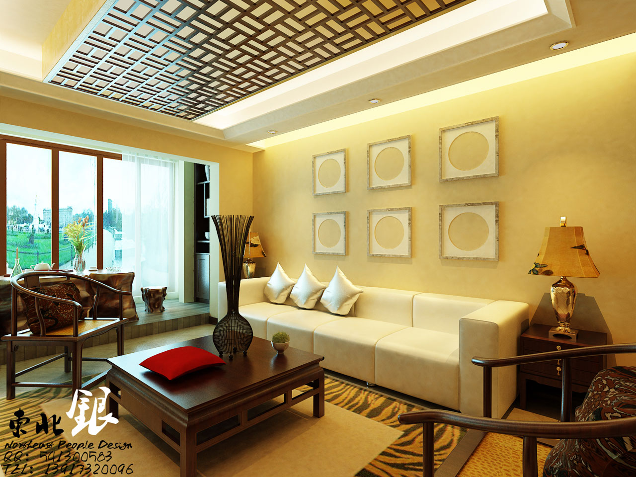Asian Influence Wall Murals | Interior Design Ideas