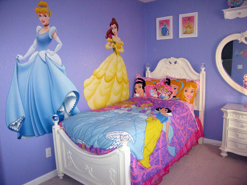 disney themed wall decor disney princess wall stickers
