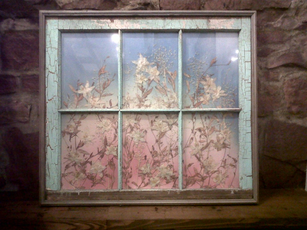 Window Turned Picture Frame Vintage Offers Outstanding