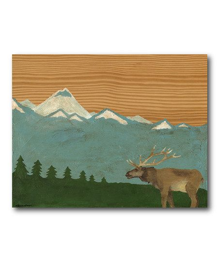 wall art Blue Mountain wall decor