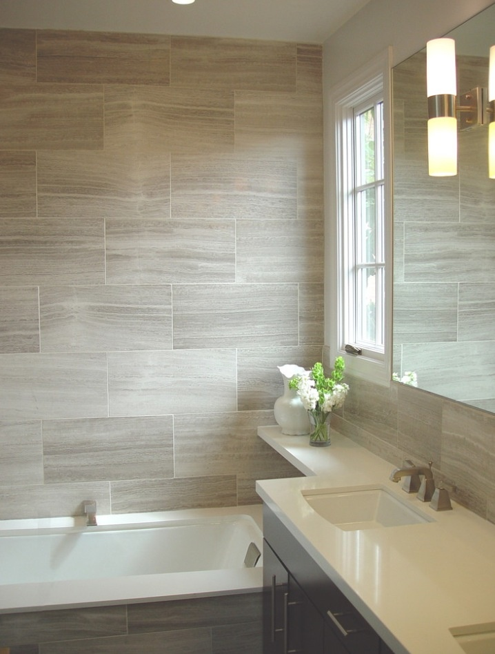 wood grain tile has become very popular