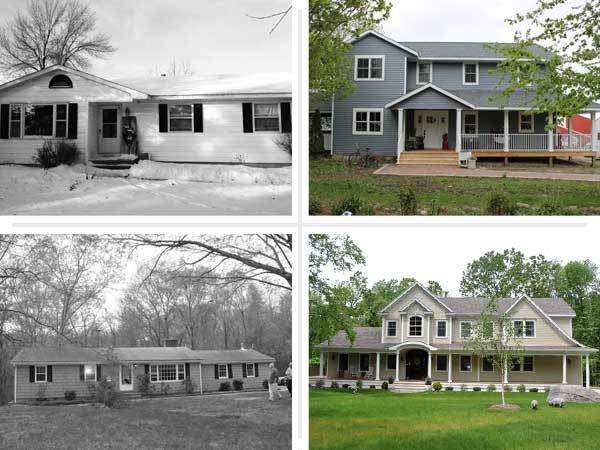 Ranch house remodel and the options you have to do it for Redesign front of house